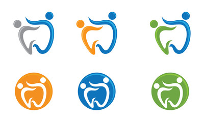 Dental family Logo