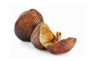 Snake skin fruit and fruit's peel