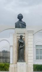 The Statue of the romanian national poet Mihai Eminescu