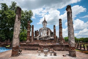 Ancient buddha statue, Sukhothai Historical Park