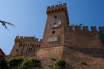 Offagna, Ancona, Marche, Italia