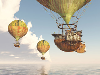 Fantasy Hot Air Balloons