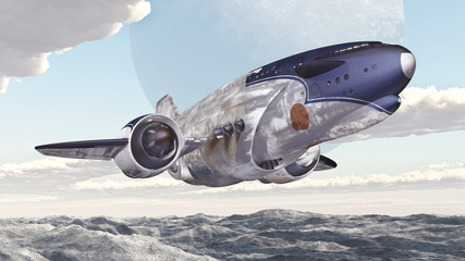 Intergalactic Cargo Ship