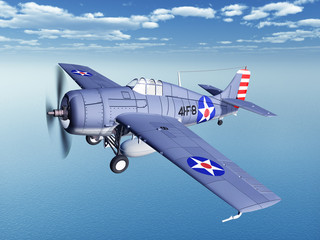 American fighter plane of World War II