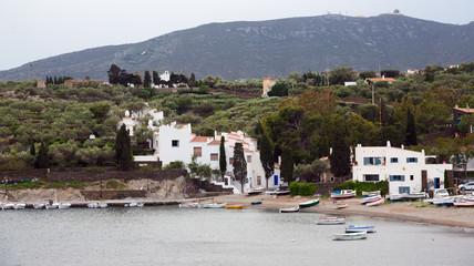 The  village of Port Lligat. Cadaques,