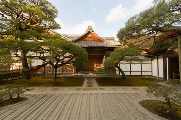 zen park in kyoto