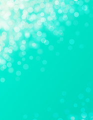 Wall Mural - Background abstract light blue bokeh illustration