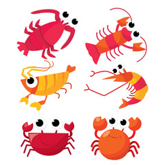 Cartoon Crustacean