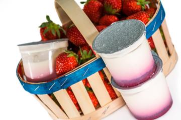 Yaourts fraises