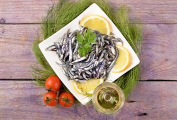 Neonata di acciughe - Baby anchovies
