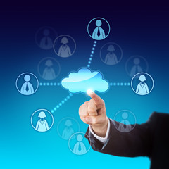 Contacting Office Workers Via The Cloud