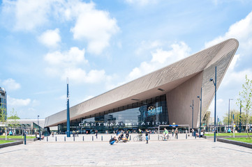 Canvas Prints Rotterdam Centraal Station, Rotterdam, The Netherlands