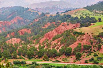 Tizi-n-Tichka pass, Morocco, Africa