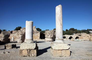 Tunisia. Ancient Carthage. The Antonine Baths