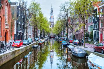 Canvas Prints Amsterdam Zuiderkerk church in Amsterdam
