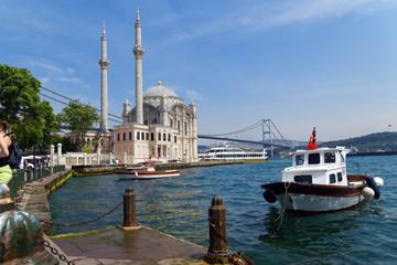 Canvas Prints Turkey Ortakoy Mosque, istanbul