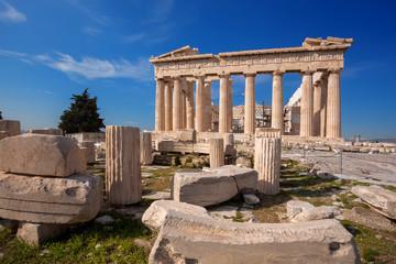 Keuken foto achterwand Athene Parthenon temple on the Acropolis in Athens, Greece