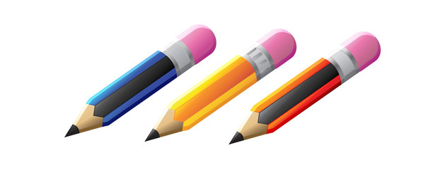 Pencil Icon - Illustration