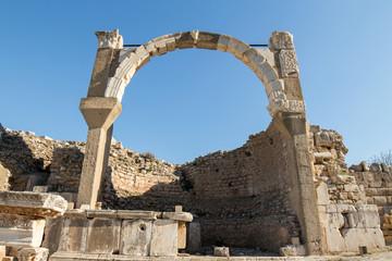 Ruin at  Ephisus, Selcuk, Turkey.