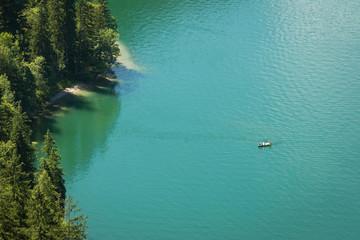 Ruderboot auf dem Königssee