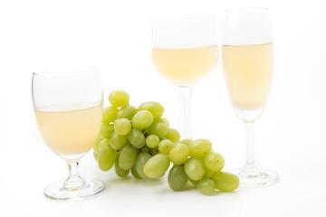 white grapes juice