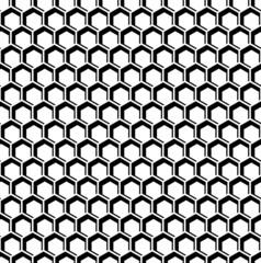 Seamless hexagons texture. Honeycomb pattern.