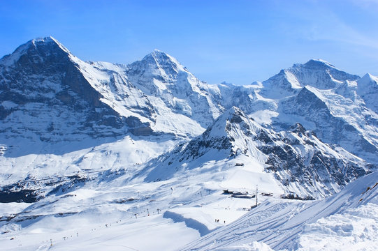Vacation in Alps