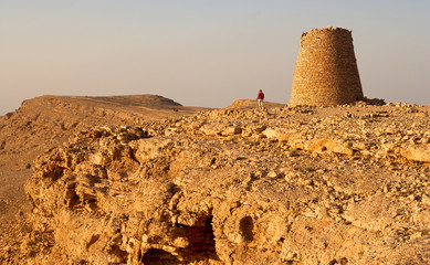 The Beehive Tombs of Bat, in Oman, a Unesco World Heritage Site.