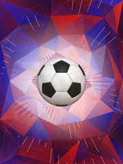 England Soccer Ball Background