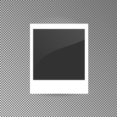 Vector illustration of photo blank.