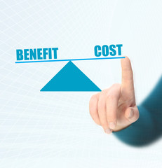 balance between benefit and cost