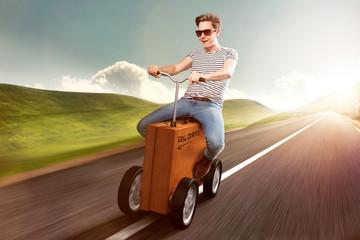 Suitcase Car