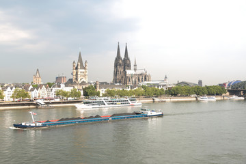 Köln Kölner Dom Rhein