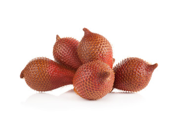 salak isolated on a white background