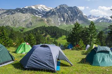 kamp çadırları
