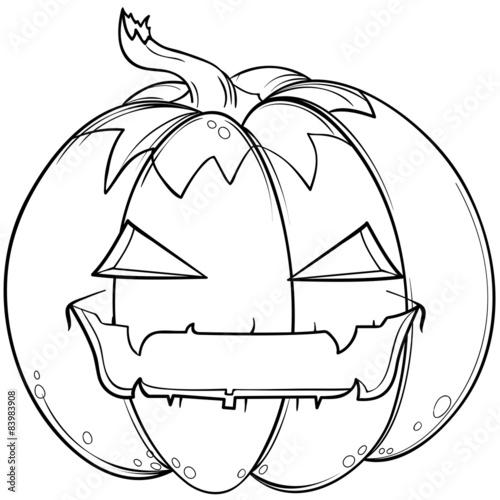 Happy Halloween Kürbis \