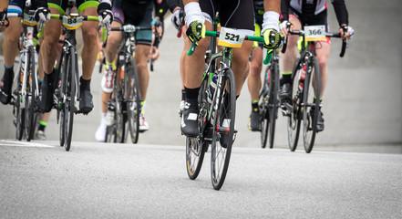 corsa ciclistica su strada