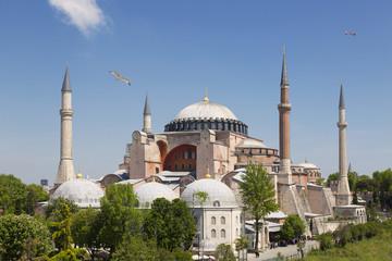 Hagia Sophia is the main church of the Byzantine empire
