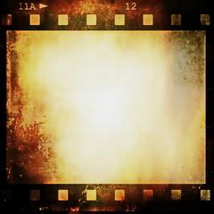 grunge film strip background