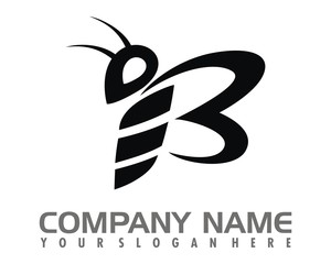 black butterfly logo image vector