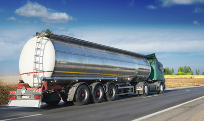 Big fuel gas tanker