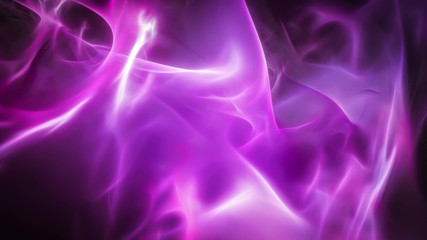 Smooth wavy and blurred purple energy background