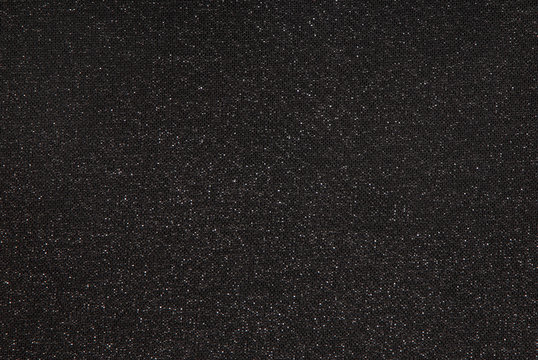 black lurex fabric