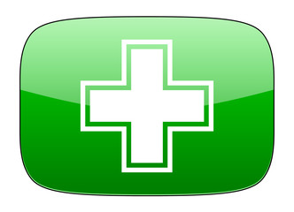 pharmacy green icon