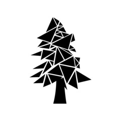Digital vector tree set
