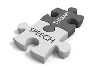 Speech therapy concept for treatment of communication disorders
