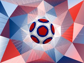 France Soccer Ball Background
