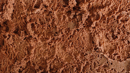 Close up chocolate icecream background