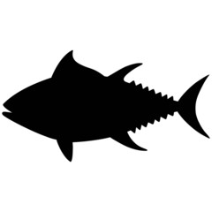 Tuna Silhouette