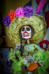 La Calavera Catrina, traditional personage of Mexican Day of the
